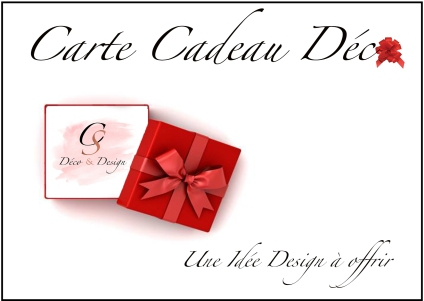 Carte cadeau Déco site internet
