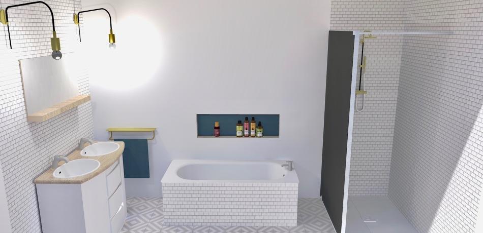 Salle de bain Photo réaliste